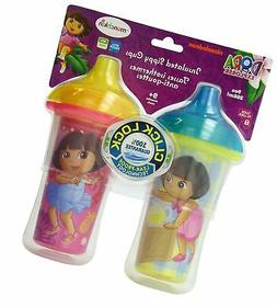 Munchkin Dora the Explorer Click Lock Insulated Sippy Cup, 9