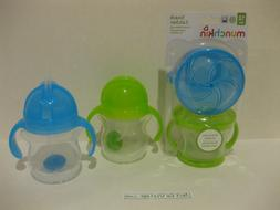 Munchkin Happy Snacker Snack Catcher and Sippy Cup Set, 4 Co