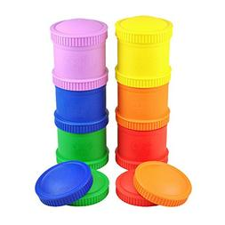 Re-Play Made in the USA Stackable Snack Cup Set of 6 - Crayo