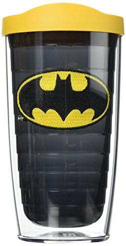 Tervis 1084016 Batman Tumbler with Emblem and Yellow Lid 16o
