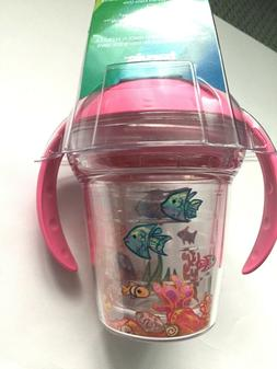 Tervis 1177831 Fishy Fun Tumbler with Wrap and Playful Pink