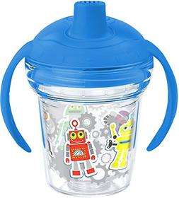 Tervis 1177834 Beep Boop Tumbler with Wrap and Rocket Blue L