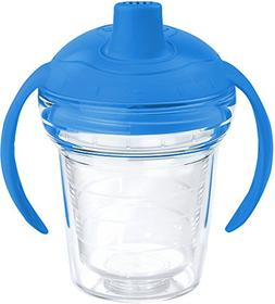 Tervis 1178384 Clear Tumbler with Wrap and Rocket Blue Lid 6