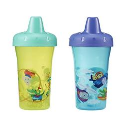 The First Years Simple Sippy Cup - 9oz, 2 pack, Blue and Gre