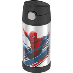 Thermos Stainless Steel FUNtainer Bottle, Spiderman, 1 ea