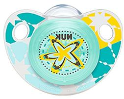 NUK Adore Baby Pacifier 6-18 Months Silicone Unisex Yellow G