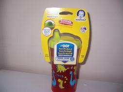 Gerber advance hard spout sippy cup red dinosaurs. New