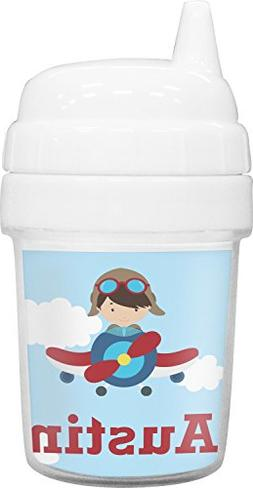 Airplane & Pilot Baby Sippy Cup