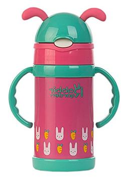 Alice Vacuum Insulated Stainless Steel Sippy Cup with Handle