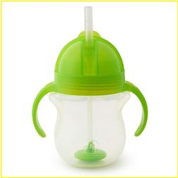 Munchkin Any Angle Click Lock Weighted Straw Trainer Cup, Gr