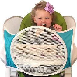 The Original Tray Buddi - Aqua - It's a Playpen for High Cha