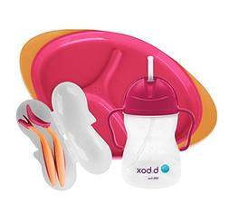 b.box Toddler Feeding Set | Color: Ocean Breeze | Includes: