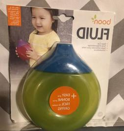 Babies R Us Brand NEW Easy Grip Boon Fluid Sippy Cup Green,