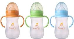 Wawa Baby Bottle - The Leak Proof Feeding Bottle with Soft S