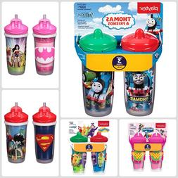 Baby Kids Children Sippy Cup Straw Spill Proof Insulated Tod
