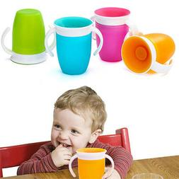 Baby Non Spill Sippy Cup Munchkin Miracle 360 Baby Trainer T
