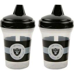 Baby Oakland Raiders Baby Fanatic Sippy Cups - 2-Pack Free S