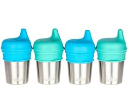 Baby Silicone Sippy Cup Lids  | Turn Any Cup into a Sippy |
