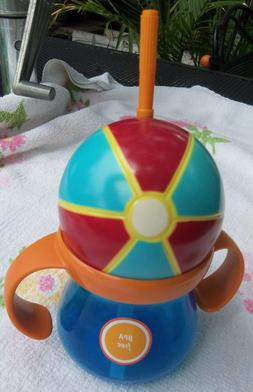BABY / TODDLER SIPPY CUPS ~NO BPA ~BEACH BALL OR BASEBALL ~Y