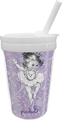 Ballerina Sippy Cup with Straw