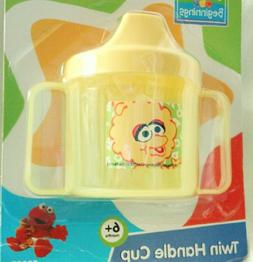 Sesame Street Beginnings BPA Free Twin Handle Sippy Cup with