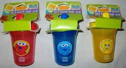 Sesame Street Beginnings SIPPY CUP 8 oz Big Bird Cookie Mons