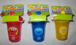 Sesame Street Beginnings SPILL PROOF SIPPY CUP 8 oz Baby Coo