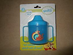 Blue BPA Free Disney Tigger Twin Handle Sippy Cup, For 6+ Mo