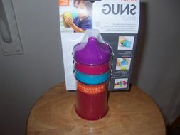 Boon Snug Silicone Sippy Lids  Turn Any Cup Into A Sippy Spi