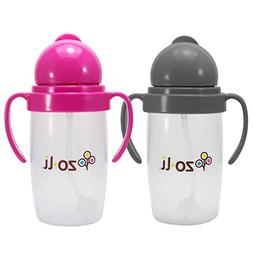 BOT 2.0 2-Pack Pink and Grey Bundle | Siliflex Weighted Stra