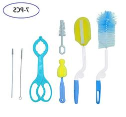 Baby Bottle Brushes 7in1 Best for Cleaning Straws and Tubes,