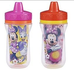 Bottle Feeding Cups 2Pack 9Ounce Insulated Sippy Cup Designe