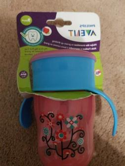 Philips Avent BPA Free My First Big Kid Cup, 9m+  9 Oz Pink