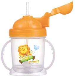 Simba BPA Free Baby Training Cup w/ 360° Auto Straw