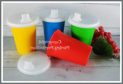 Brand New TUPPERWARE Bell Tumblers W/Sipper Seals Sippy Cups