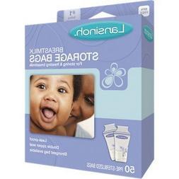 Lansinoh Breast Milk Storage Bags 1 pack of 50 count.