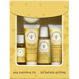 Burt's Bees Baby Getting Started Gift Set, 5 Trial Size Baby