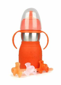 Kid Basix by New Wave Safe Sippy 2-Baby & Toddler Stainless