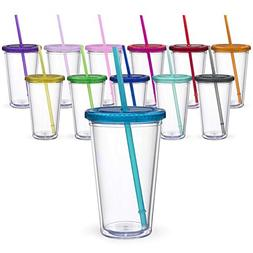 Maars® Classic Insulated Tumblers 16 oz.   Double Wall Acry