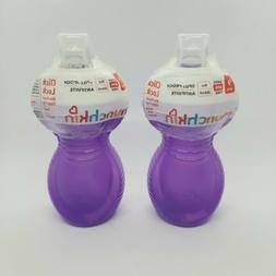 Click Lock Bite Proof Sippy Cup, Blue/Green, 9 Ounce, 2 Coun