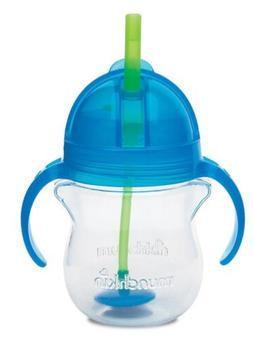 Munchkin Click Lock Weighted Flexi Straw Trainer Cup Blue 7
