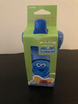 Cookie Monster Sesame Street Sippy Cup Blue 8oz Spill Proof