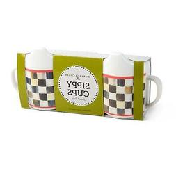 Mackenzie-Childs Courtly Check Sippy Cups ~Set of 2~ #32642-
