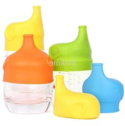 Creative Leak Proof Silicone Sippy Lids Make Most Cups a Sip