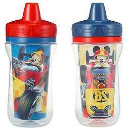 Cups Insulated Sippy Cups, Mickey Mouse, 9 Ounce  Baby