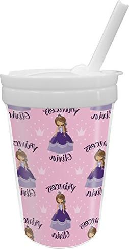 Custom Princess Sippy Cup with Straw