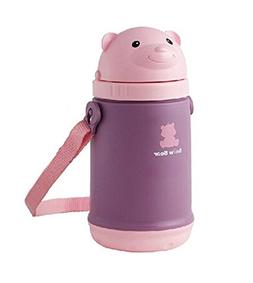 Cute Bear Infant Sippy Cups Baby Sippy Cup Portable Children