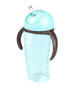 Cute Penguin Baby Sippy Cup Children Spout Training Cup BLUE