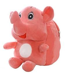 COFFLED Cute Plush 3D Elephant Backpack, Cartoon Toddler Kid