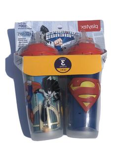DC Comics Super Friends Stage 3 2 Pack 9 Ounce Insulated Str